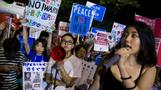 Japanese students take up the anti-war baton