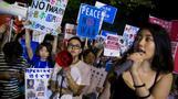 Japanese students take up the anti-war baton