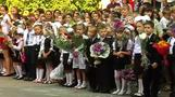 Back-to-school in Ukraine's Donetsk coincides with full truce