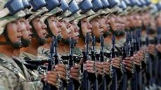 China puts a flashy new military on display