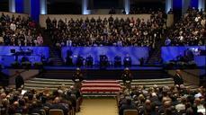 Massive funeral for slain Texas deputy