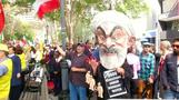 Hundreds protest Iran's Rouhani at U.N.