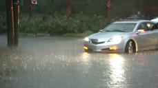 Heavy rains batter East Coast