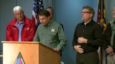North Carolina dodges Joaquin, braces for unrelated floods