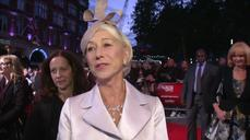 Helen Mirren talks bad behaviour at 'Trumbo' premiere