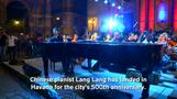 Chinese and Cuban pianists team up in Havana
