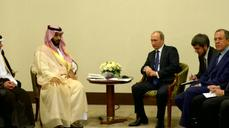Russia's foray into Syria draws concerns from Saudis