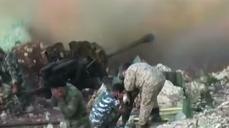 Dramatic videos reveal intensified fighting in Syria
