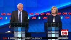 Clinton takes aim at Sanders on gun control
