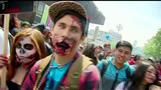 Zombies takeover Chilean capital streets in pre-Halloween festivities