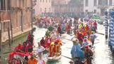 Carnival gets underway in Venice