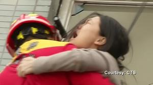 Survivors hauled to safety after Taiwan quake