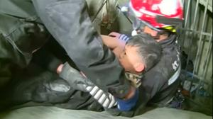 Young boy rescued from quake-hit Taiwan tower