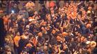 Bronco fans celebrate Super Bowl victory