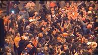 Bronco fans celebrate Super Bowl victory