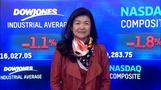 NY株続落、世界経済懸念で金融株などに売り(8日)