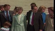 File footage shows Scalia on the day he was sworn-in