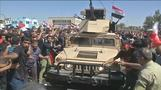 Thousands protest corruption in Baghdad, stage sit-in