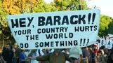 Anti-Obama protests in Argentina