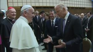 Biden and Pope Francis unite on global cancer war