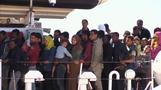 EU says migrant traffic down as 800 rescued in one day