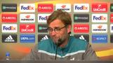 Klopp down after Europa final defeat, sees hope for future