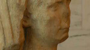 Stolen ancient sculpture returns to Italy