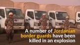 Car bomb kills Jordanian troops at Syrian border