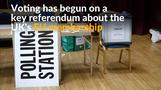 Britons vote in historic EU membership referendum