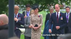 Royals pay tribute to soldiers killed in Battle of the Somme