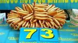 How many hot dogs can you eat in 10 minutes?