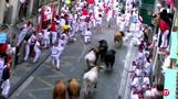 No gorings at Spain's fifth bull-run