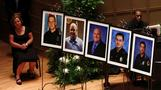 The interfaith memorial for Dallas police officers