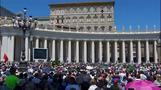 Pope leads silent prayer for Nice attack victims