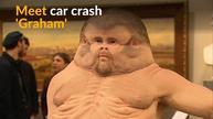 The ideal body to survive a car crash