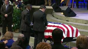 Thousands gather for funeral of slain Baton Rouge police officer