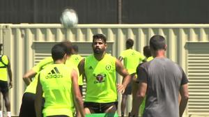 Chelsea prepare to take on Liverpool in Los Angeles