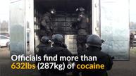 Chilean police seize $12 million worth of cocaine in drug bust