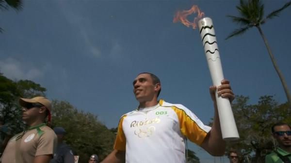 Olympic Torch arrives in Rio