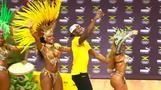 ボルト選手、リオでサンバを披露(字幕・9日)