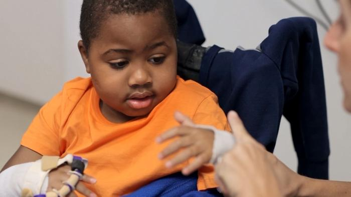 Hand transplant child marks one year since surgery