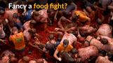 Thousands take part in Spanish tomato fight