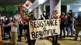 Protesters chant 'we want the tapes' in third night of Charlotte protests