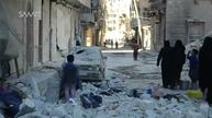 Warplanes press attack on rebel-held eastern Aleppo