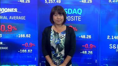 NY株続落、金融株下落や大統領選討論会控えた警戒で (26日)