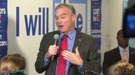 Kaine: Trump was rattled