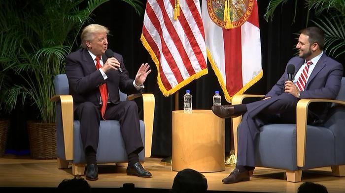 "Trump: ""We won virtually every poll"""