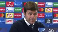 Pochettino hails Son after victory over CSKA Moscow.