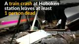 New Jersey train crash kills one, injures more than 100