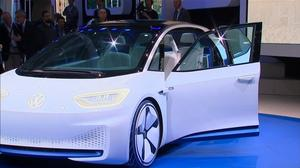 Paris car show plugs into electric future